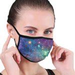 Máscaras de tela para protección contra el polvo, algodón, lavables, ...