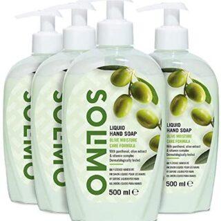 Marca Amazon - Jabón líquido para manos Solimo. Fórmula hidratante de ...