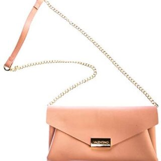Mario Valentino de Valentino de Arpie Ladies Clutch Bag in Dusty Pink