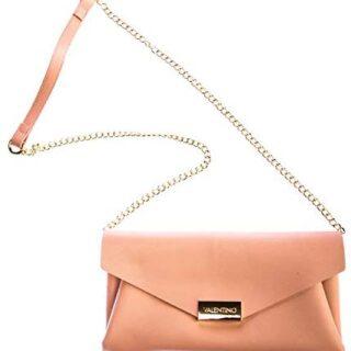 Mario Valentino de Valentino de Arpie Ladies Clutch Bag in Dusty Pink