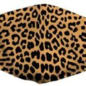 Mascarillas con estampado de leopardo, a prueba de polvo, lavables ...
