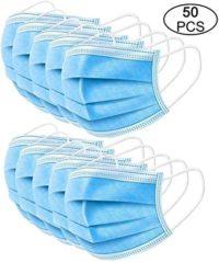 Mascarillas no tejidas de 3 capas Mascarilla protectora contra el polvo ...