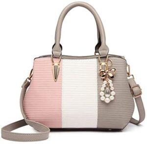 Miss Lulu Bolso de hombro multicolor Shopper Mujer Elegante Cu ...