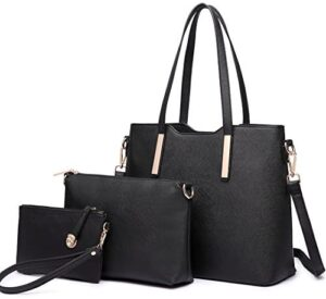 Miss Lulu Totes Bag for Women Hand Fashion 3Pcs Bolsos de hombro Cu ...