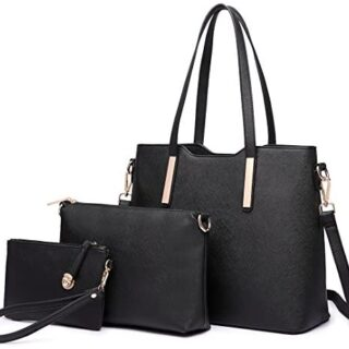 Miss Lulu Totes Bag for Women Hand Fashion 3Pcs Bolsos de hombro Cu ...