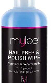 Mylee Prep + Wipe, Gel limpiador de residuos de esmalte de uñas en gel ...
