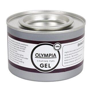 Olympia CE241 gel combustible para calentar estufa, 200 g (para ...