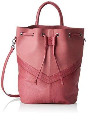 PIECES Pcbella Leather Tighten Bag - Mochilas para mujer