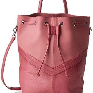 PIECES Pcbella Leather Tighten Bag - Mochilas para mujer
