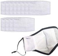 PM2.5 - Filtro de carbón activado, 5 capas de reemplazo para máscara