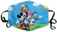 Pato Donald - Máscara unisex de Mickey Mouse y Goofy, polvo ...