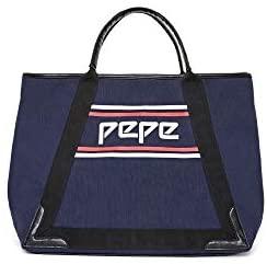 Pepe Jeans bolso tote azul para mujer