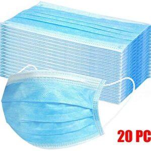 RANTA 10/20/50/100 / 200PC 3Ply Industrial Dental Mascarilla desechable ...