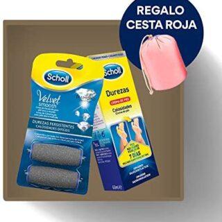 Scholl Reemplazo Lima Persistencia Dureza 2 Unidades + Crema para ...