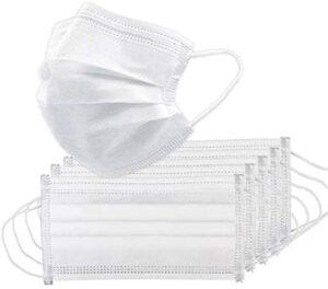 TOHHOT 50 Unids / caja Máscara desechable no tejida Máscara protectora P ...
