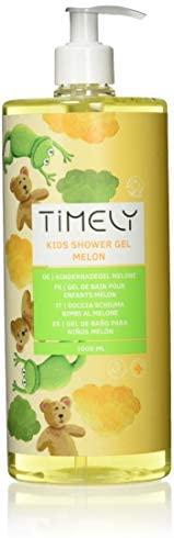 Timely - Gel de ducha hidratante perfumado de melón para niños
