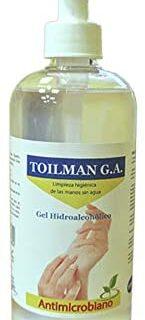 Toilman - Gel Antiséptico Hidroalcohólico 500ml