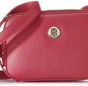 Tommy Hilfiger Classic Saffiano Camera Bag - Bolsos de hombro para mujer