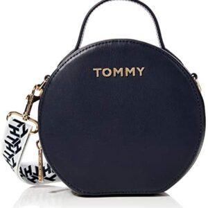 Tommy Hilfiger - Iconic Xover, Bolsos bandolera Mujer, Azul (Sky Capta...