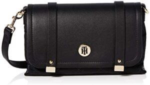 Tommy Hilfiger TH ELEGANT CROSSOVER QUILTED Mujer Bolsos de hombro Negro ...
