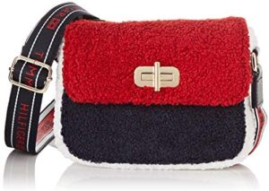 Tommy Hilfiger - Th Girls Mini Me Turnlock Fur, Carteras Niñas, Multic...
