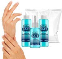 Total Safe Pack Ideal para la higiene profunda de las manos | 90ml con Sp ...