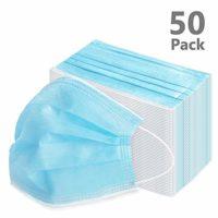 VIPITH 50 paquetes de equipo a prueba de polvo al aire libre (azul)