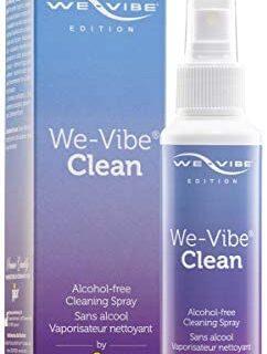 We-Vibe Clean - hecho por pjur - Spray de limpieza especial para juguetes ...
