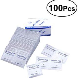 Yardwe 100pcs desinfección esterilización médica desechable con Alc ...