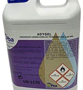 Adygel - Gel de manos hidroalcohólico de aloe vera 5 l