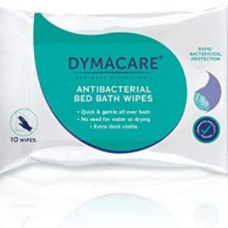 DYMACARE Toallitas antibacterianas baño en cama - Desinfección de la piel si ...