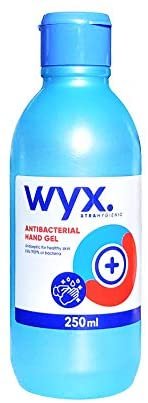 Gel Hidroalcohólico 250ml WYX con Alcohol. Indicado para desinfección ...