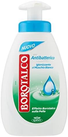 Jabón Líquido Borotalco, antibacteriano - 250 ml