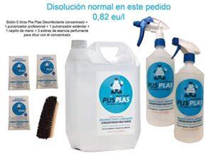 PLIS PLAS Desinfectante concentrado multipropósito H.A. - SIN LEJÍA - Poten ...