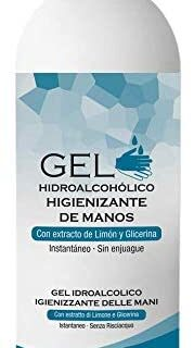 Tahe - Gel desinfectante para manos hidroalcohólico 500 ml