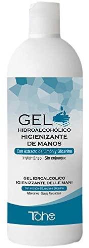 Tahe - Gel desinfectante para manos hidroalcohólico 500 ml