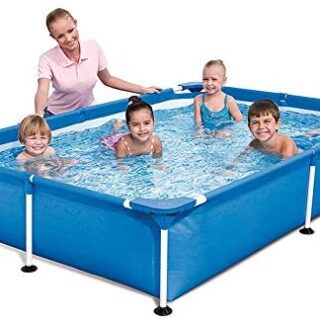 AYWJ Bracket Swimming Pool Home Adultos Piscina para niños Gruesa Exte...