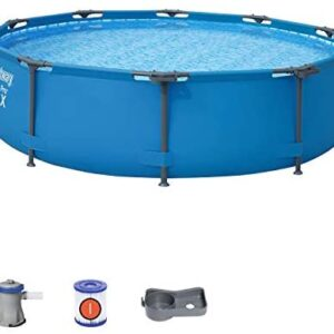 Bestway 56408 - Piscina Desmontable Tubular Steel Pro Max 305x76 cm co...