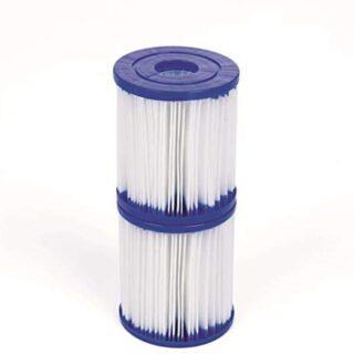 Bestway 58093 - Set de Dos Filtros de Agua Tipo I para Depuradora de C...
