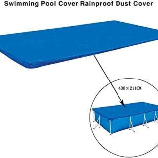 Cubierta de piscina rectangular, Bandeja de protección para piscina re...