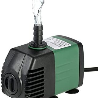 Decdeal Water Strider - 1500L/H 25W Bomba de Agua Sumergible con 2 Boq...