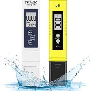 Eletorot Medidor de Prueba de Calidad del Agua PH y TDS 4 en 1 para Ac...