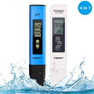 Medidor pH, Digital Medidor TDS de Prueba PH Medidor TDS/PH/CE Tempera...