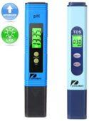 Pancellent Calidad del Agua Medidor de Prueba TDS PH 2 en 1 Kit 0 – 99...