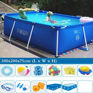 TYP Mall Deluxe Splash Frame Pool Desmontable Tubular Piscina para Adu...