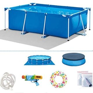 TYP Mall Infantil Deluxe Splash Frame Pool Piscina Desmontable Tubular...