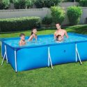 Zenghh Marco prisma piscina Set Family Pool, desmontable rectangular p...
