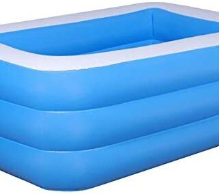 franktea Piscina Inflable, Piscina Rectangular Inflable, Piscina Infla...