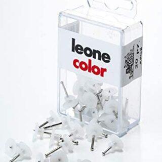20 ganchos Leone Dell'Era para colgar cuadros con alfileres de acero t...