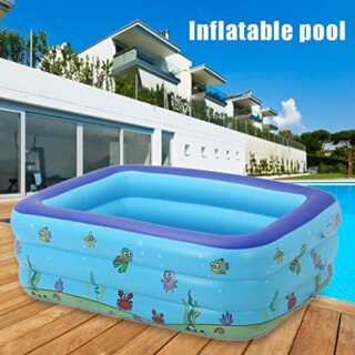 Bloomma Family Inflatable Pool,Portable Pools For Kids Inflatable Bath...